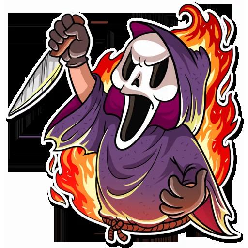 Scream - Sticker 7