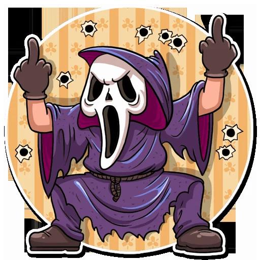 Scream - Sticker 10
