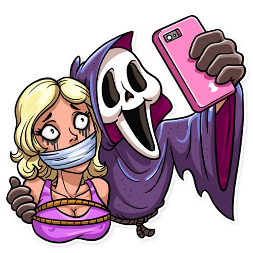 Scream - Sticker 13