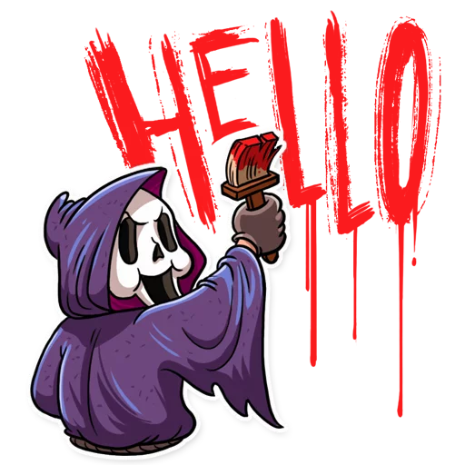 Scream - Sticker 5