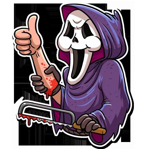 Scream - Sticker 3