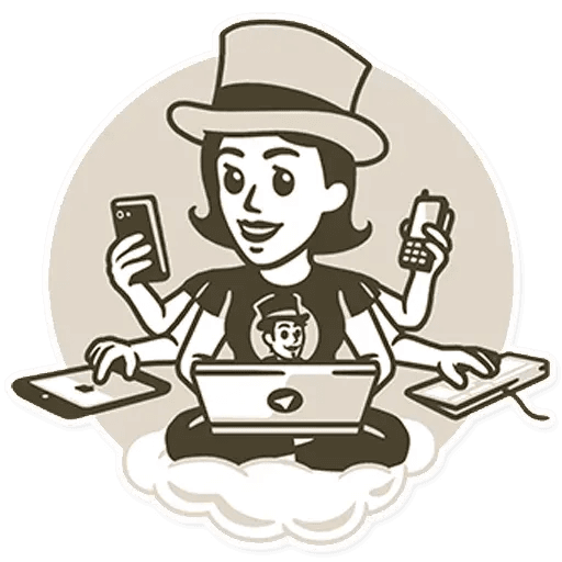 Telegram - Tray Sticker