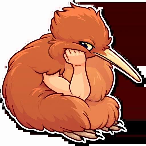 Birds with Arms - Sticker 14