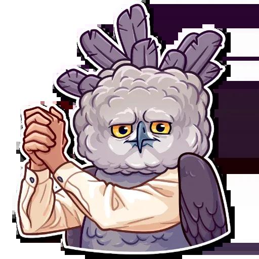 Birds with Arms - Sticker 28