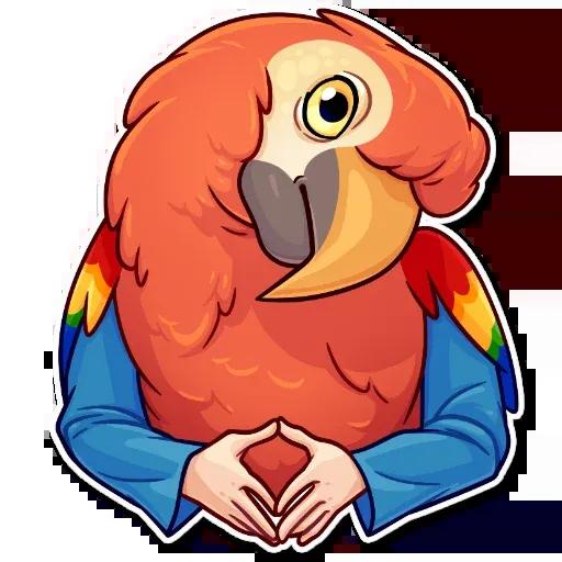 Birds with Arms - Sticker 11
