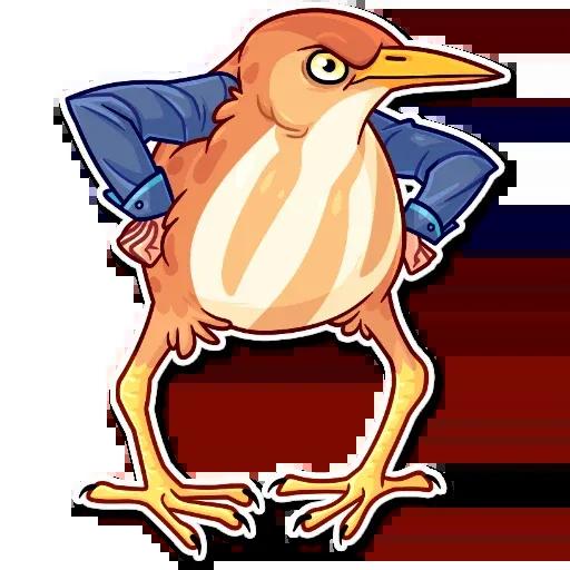 Birds with Arms - Sticker 10