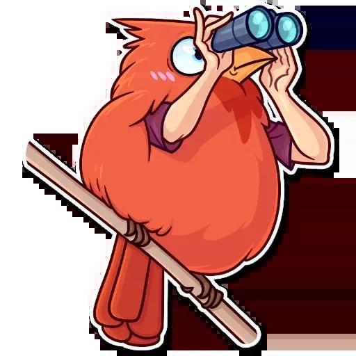 Birds with Arms - Sticker 23