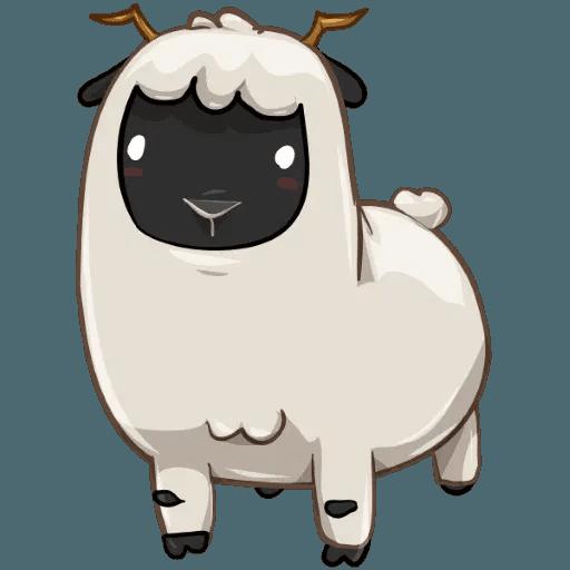 Sheep - Tray Sticker