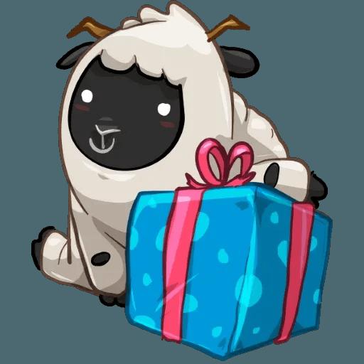 Sheep - Sticker 25