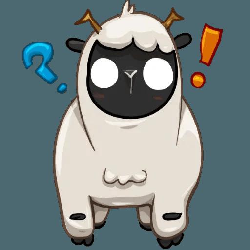 Sheep - Sticker 8