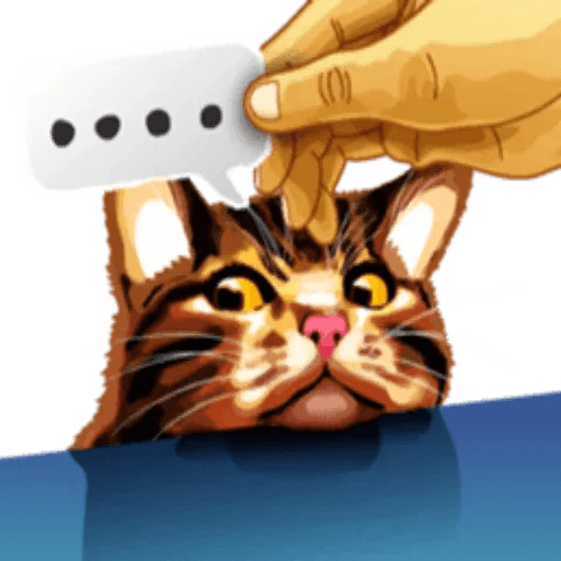 MemeTheCat - Sticker 4