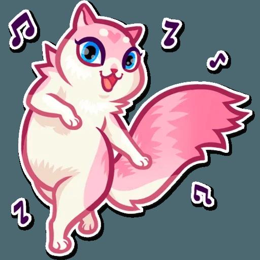 Pussy Cat - Tray Sticker
