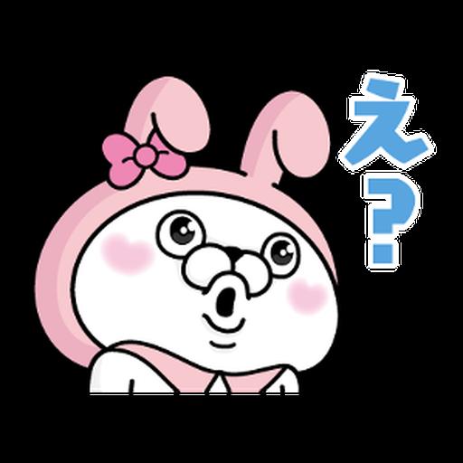 YOSISTAMP-兔兔100%過激貼圖 2 + SANRIO CHARACTERS - Sticker 30
