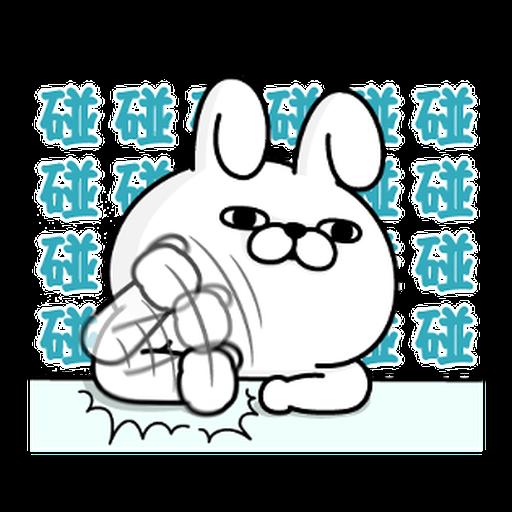 YOSISTAMP-兔兔100%過激貼圖 2 + SANRIO CHARACTERS - Sticker 4