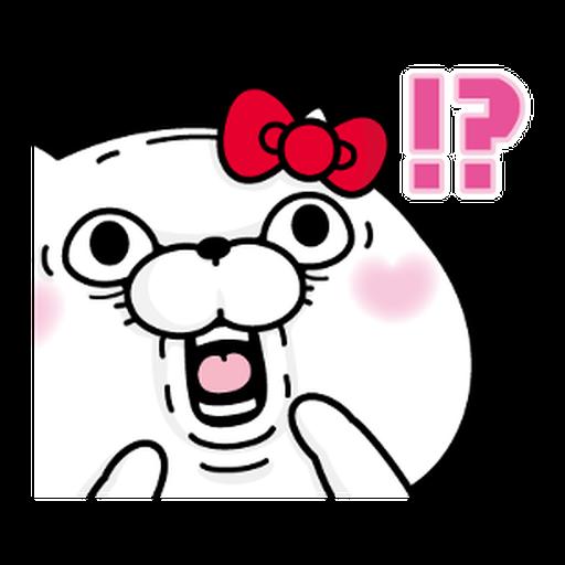 YOSISTAMP-兔兔100%過激貼圖 2 + SANRIO CHARACTERS - Sticker 14