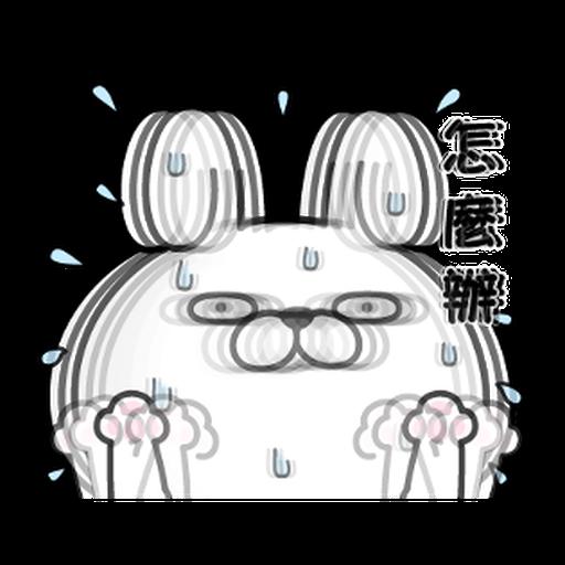 YOSISTAMP-兔兔100%過激貼圖 2 + SANRIO CHARACTERS - Sticker 2