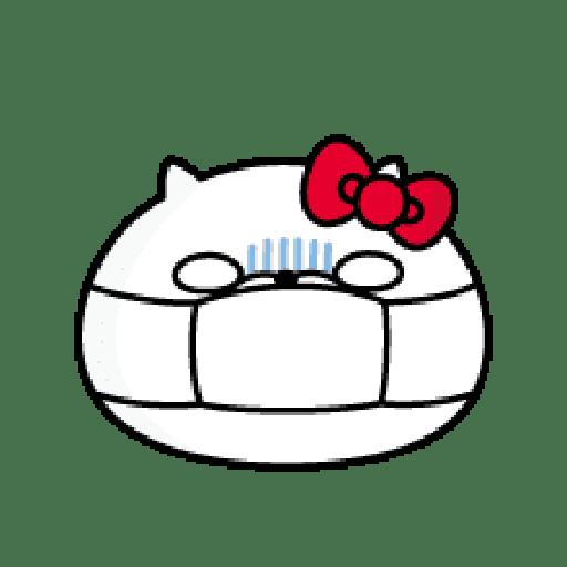 YOSISTAMP-兔兔100%過激貼圖 2 + SANRIO CHARACTERS - Sticker 15