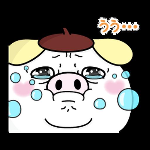 YOSISTAMP-兔兔100%過激貼圖 2 + SANRIO CHARACTERS - Sticker 26