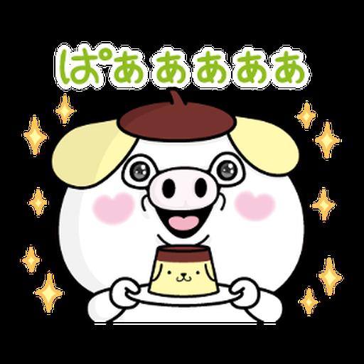 YOSISTAMP-兔兔100%過激貼圖 2 + SANRIO CHARACTERS - Sticker 27