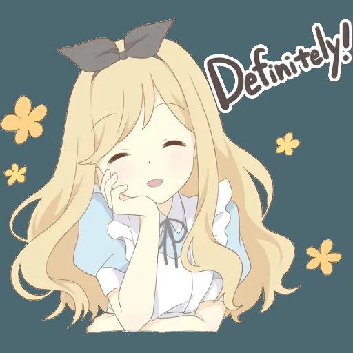 miyuki's alice - Sticker 27