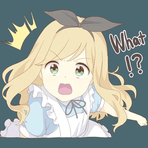 miyuki's alice - Sticker 12