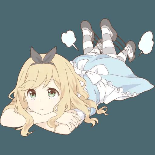 miyuki's alice - Sticker 4