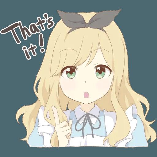 miyuki's alice - Sticker 24
