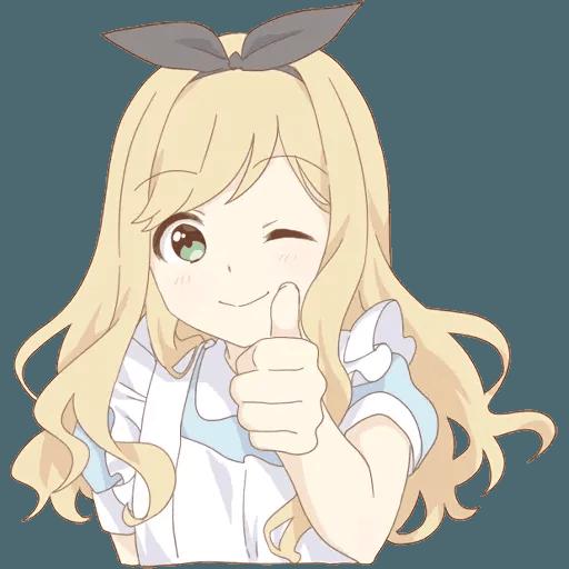 miyuki's alice - Sticker 2