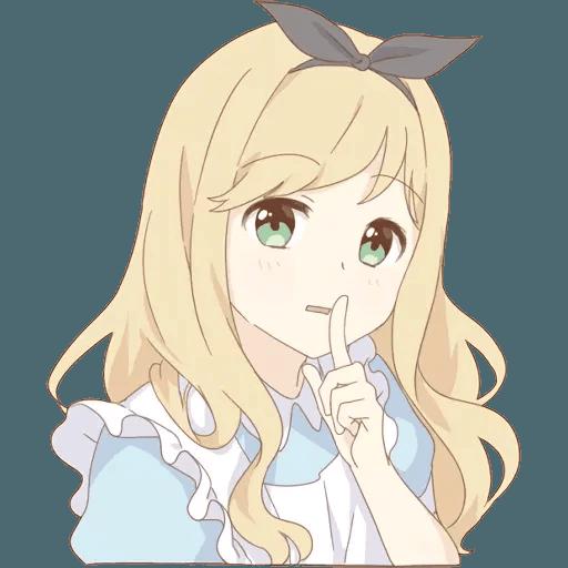 miyuki's alice - Sticker 11