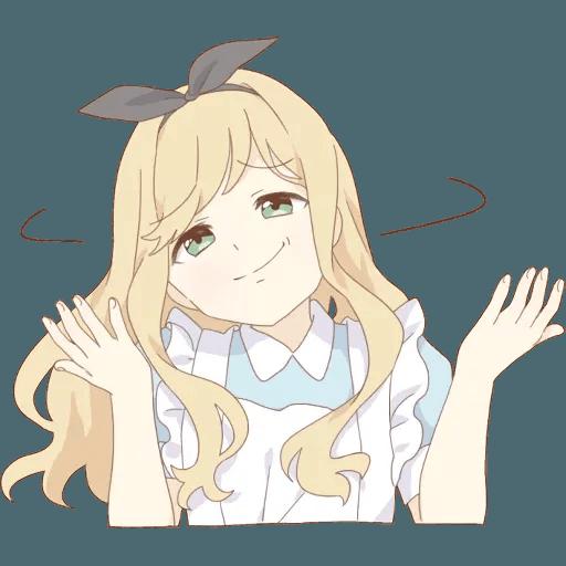 miyuki's alice - Sticker 10