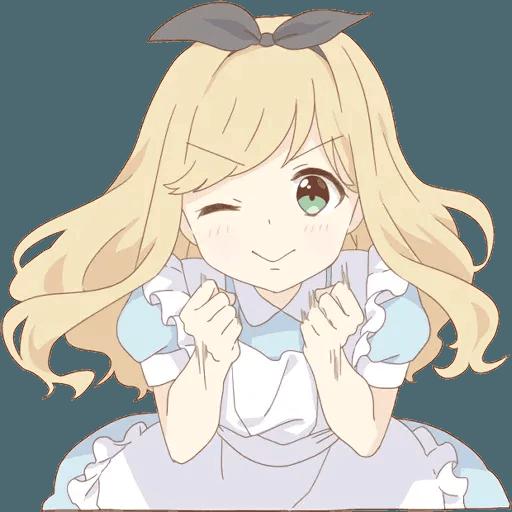 miyuki's alice - Sticker 3