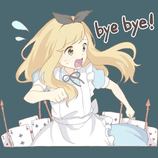 miyuki's alice - Sticker 17