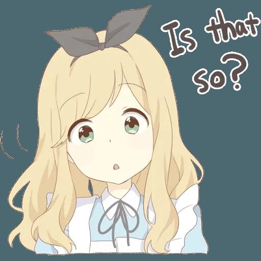 miyuki's alice - Sticker 25
