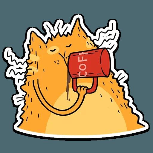 Zheltok cat - Sticker 11