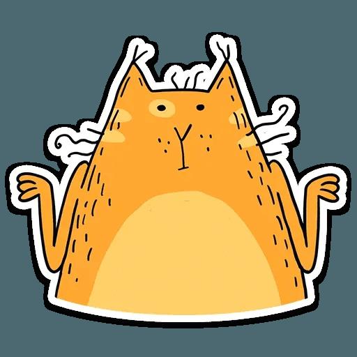 Zheltok cat - Sticker 4