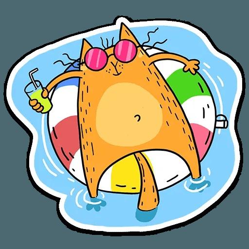 Zheltok cat - Sticker 12