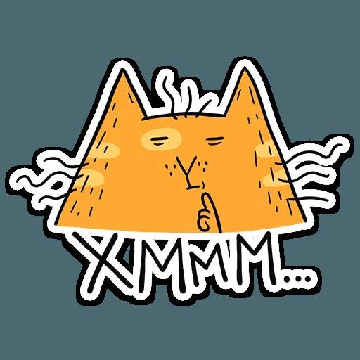 Zheltok cat - Sticker 3