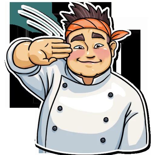 Sushi Master - Sticker 12