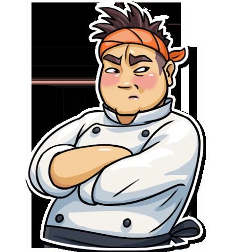 Sushi Master - Sticker 21
