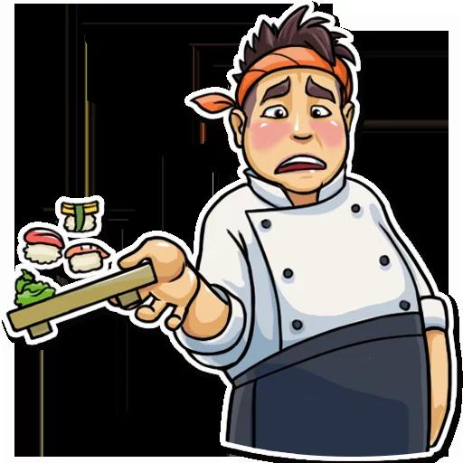 Sushi Master - Sticker 23