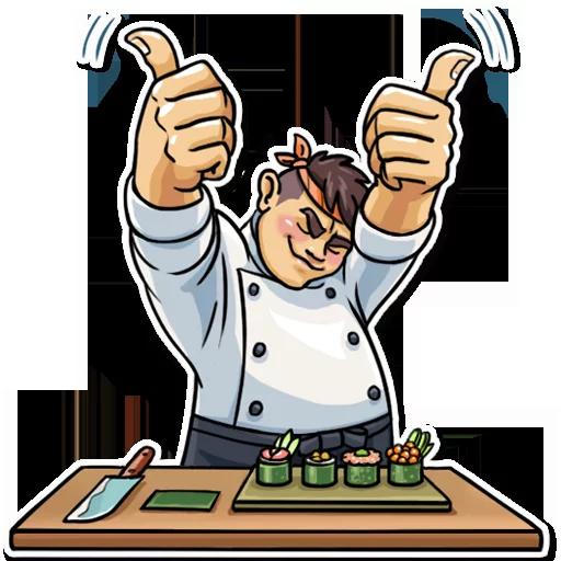 Sushi Master - Sticker 3