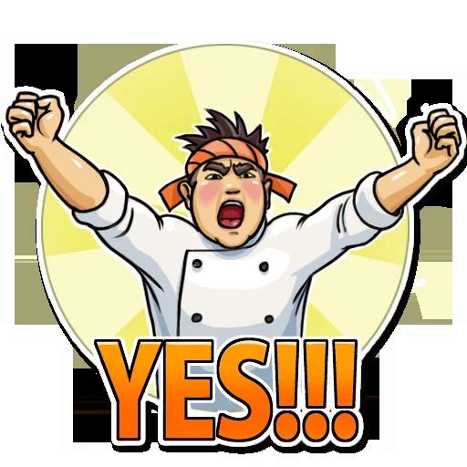 Sushi Master - Sticker 9