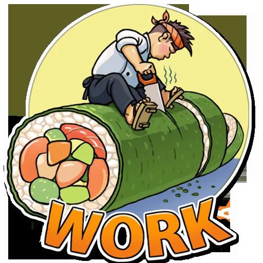 Sushi Master - Sticker 13