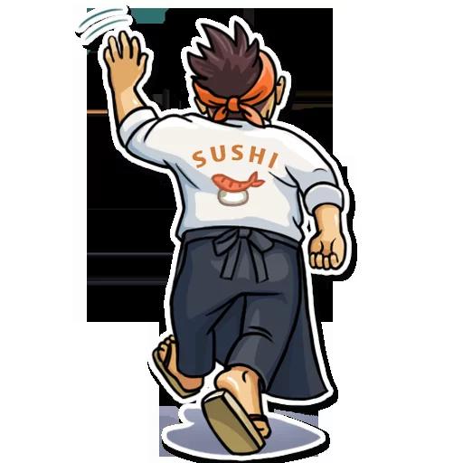 Sushi Master - Sticker 26
