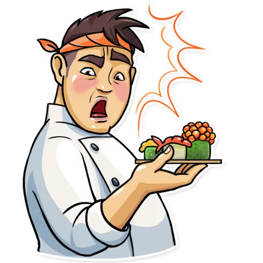 Sushi Master - Sticker 4