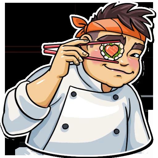 Sushi Master - Sticker 2