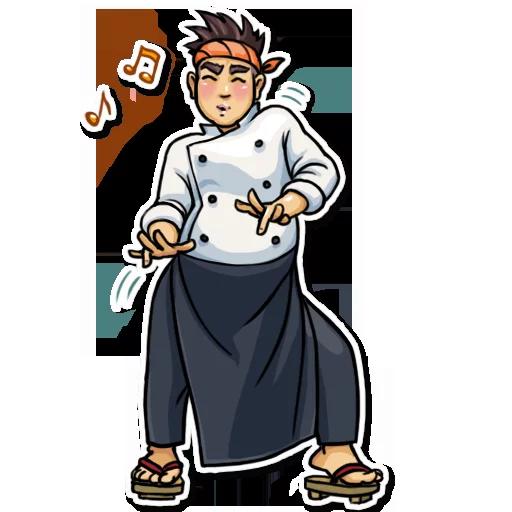 Sushi Master - Sticker 30