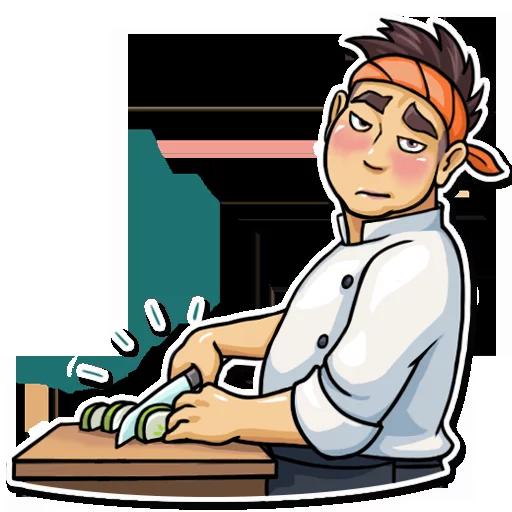 Sushi Master - Sticker 28