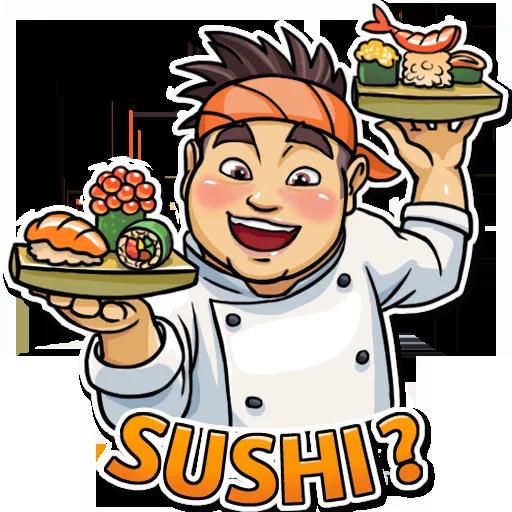 Sushi Master - Sticker 18