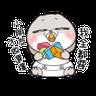 兔兔 - Tray Sticker